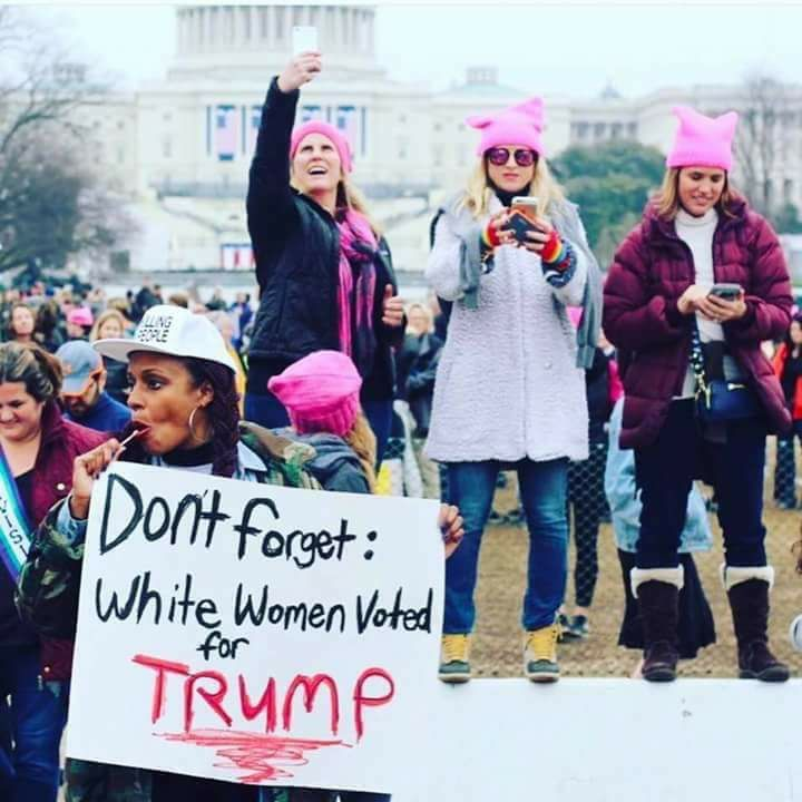 Women at the DC March