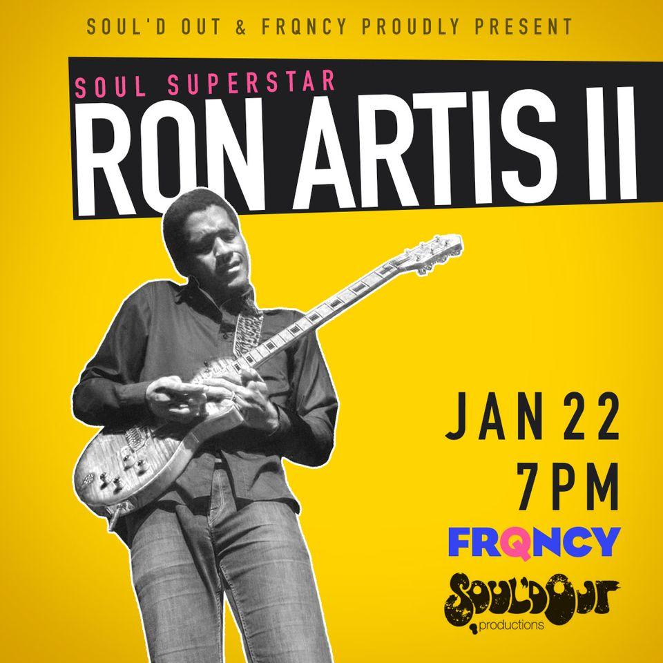 Ron Artis II, Soul Superstar