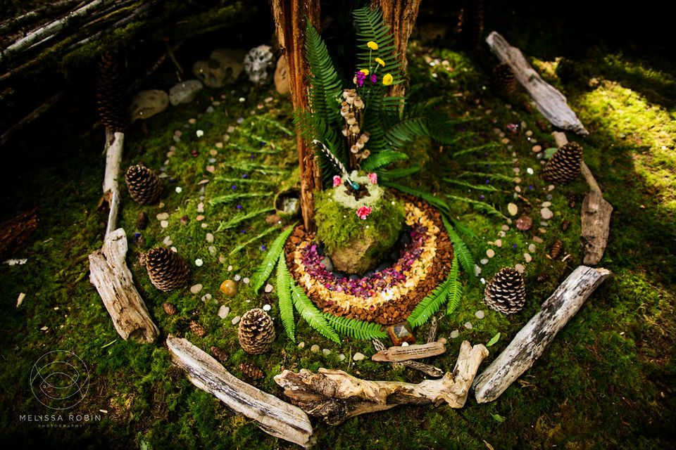 nature mandala at Beloved