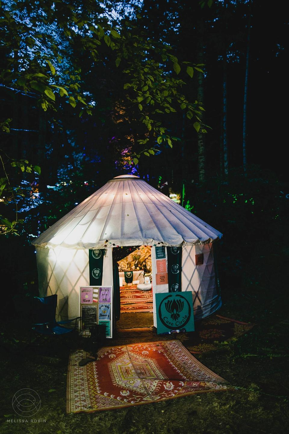 Care Circle Sanctuary Tent